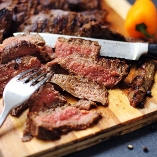 Perfectly Tender Grilled Skirt Steak | Beef, Lamb and Pork | Pinterest