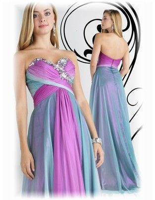 Bridesmaid Dresses Purple And Teal - Wedding Short Dresses