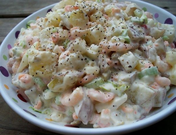 Shrimp Potato Salad from Food.com: This is a cool and refreshing salad ...