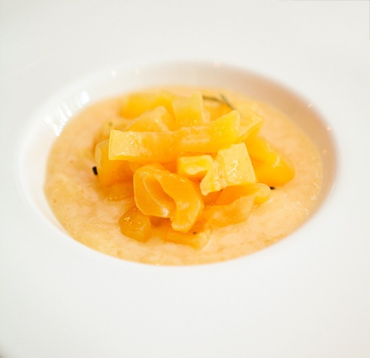 Chilled Papaya Soup With Pisco And Lime Recipe — Dishmaps