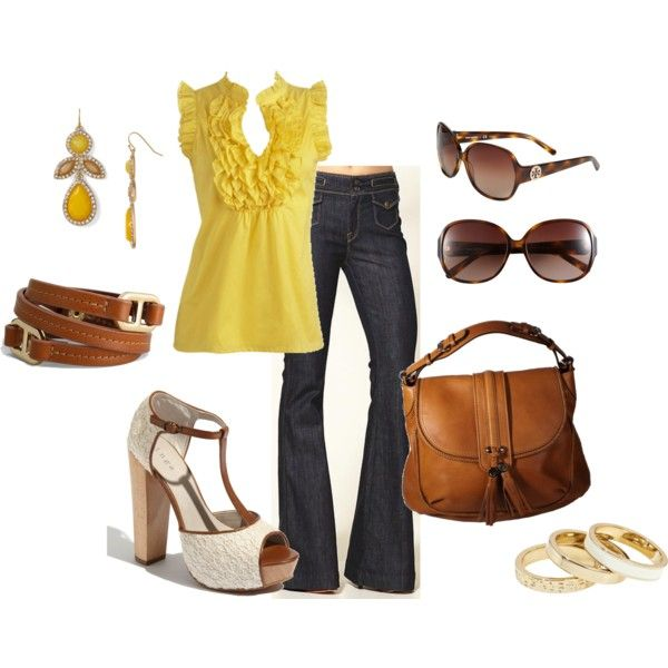 Yellow In Spring