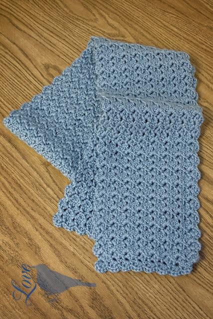 Crochet Infinity Scarf Pattern Shell : Shell Pattern Scarf Crochet Projects Pinterest
