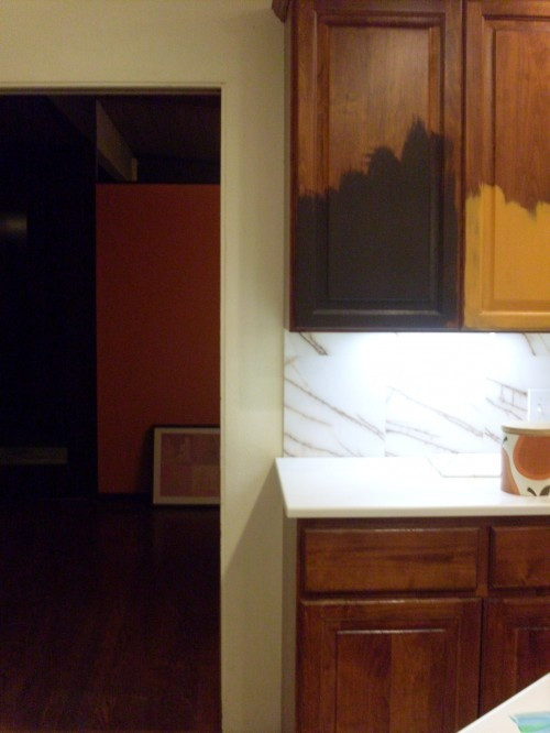 Pin by lrjsassy on brown rooms pinterest for Benjamin moore paint kitchen cabinets