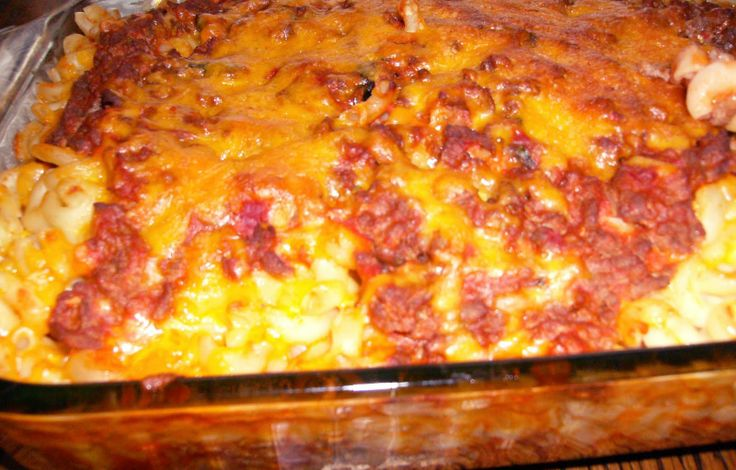 Johnny Marzetti Casserole | ..:: I Love Food ::.. | Pinterest