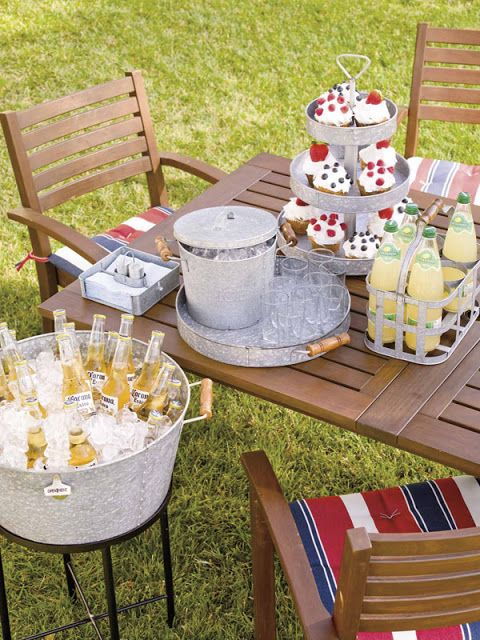 Backyard decorating ideas for parties