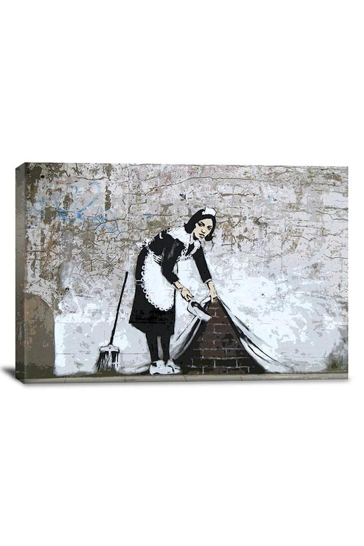Banksy Maid in London