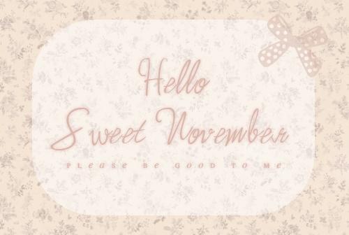 November@Cindy Gelinas