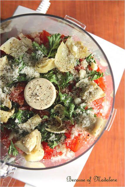 Tomato Artichoke Tapenade | Recipes etc | Pinterest
