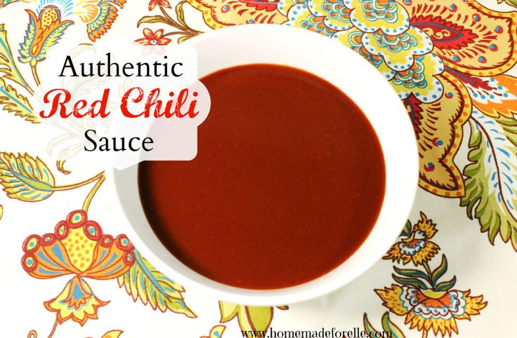 Recipe for Authentic Red Chili Sauce for enchliadas, posole or huevos ...