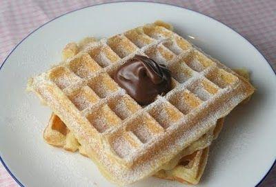 Crispy & Light Waffles | Foods | Pinterest