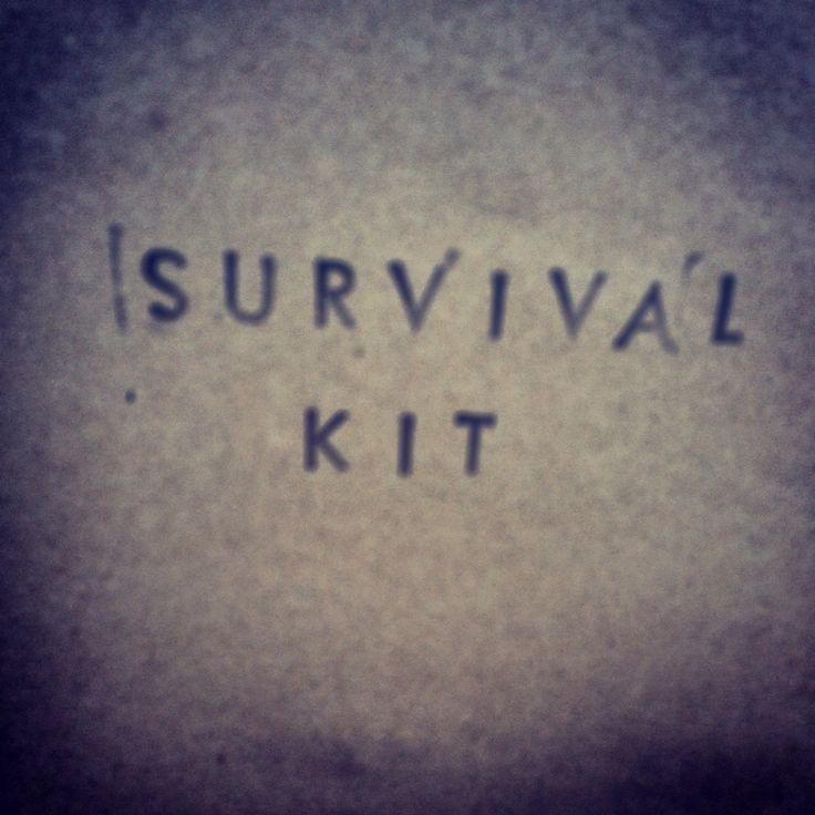 Survival kit for my boyfriend