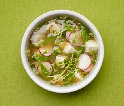 Miso Soup With Vegetables and Tofu | Daaaamn Gina that looks yummy ...