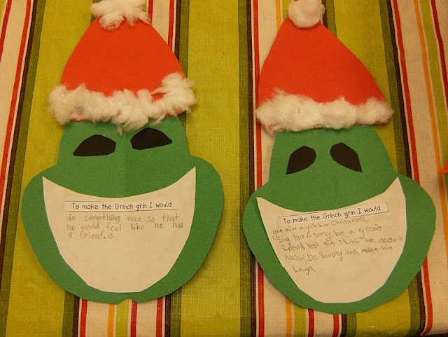 """To make the Grinch grin, I would....."""" 