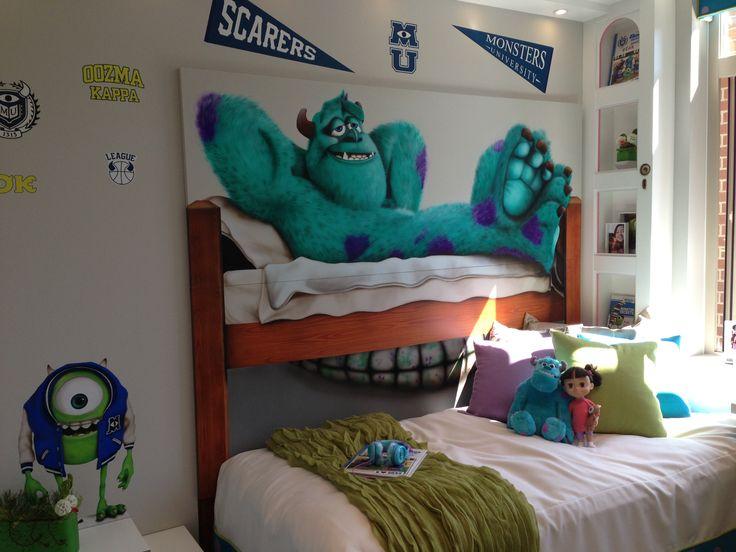 monsters inc bedroom monster 39 s inc inspired