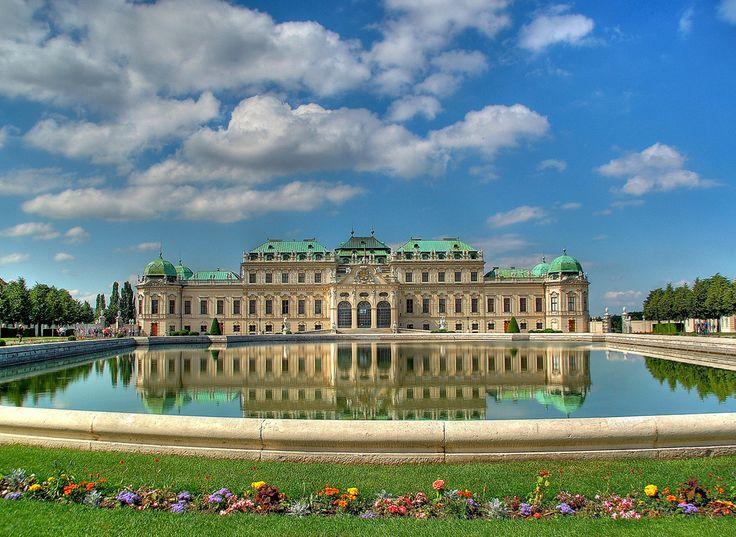 Belvedere Palace In Vienna Austria Trip To Germany Switzerland A