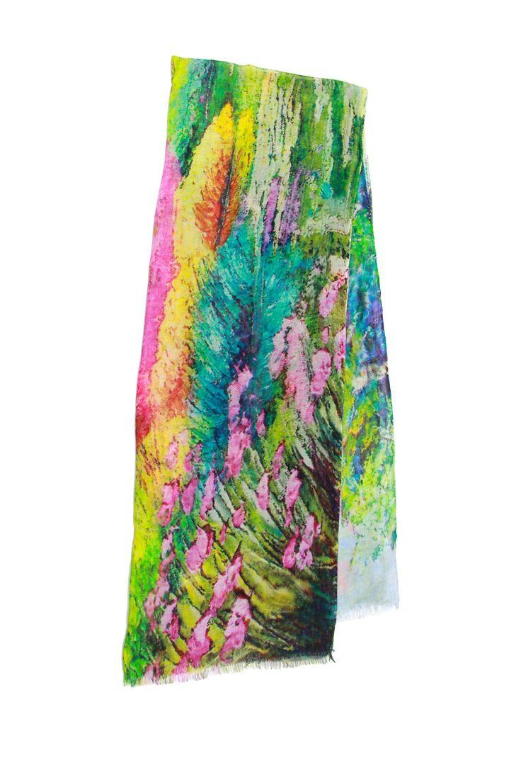 Saachi | Monet's Garden Multicolor Scarf | Nordstrom Rack -- 49