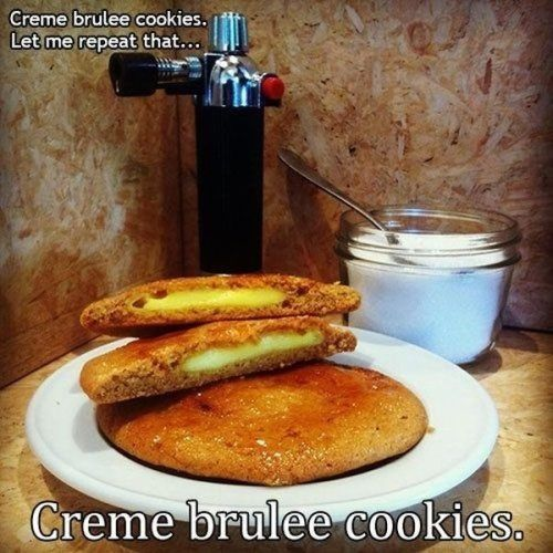 Creme Brûlée Cookies | Boredom | Pinterest