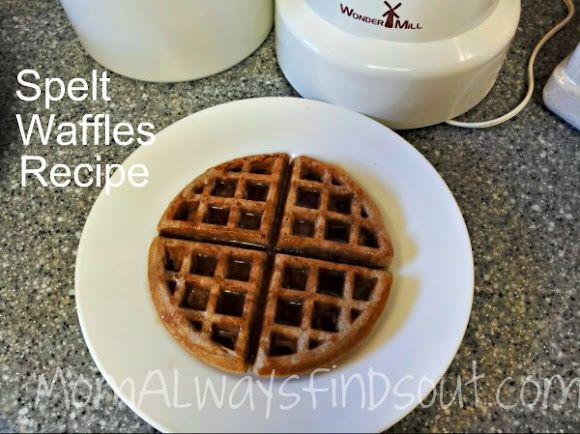 Spelt waffles/pancakes :)