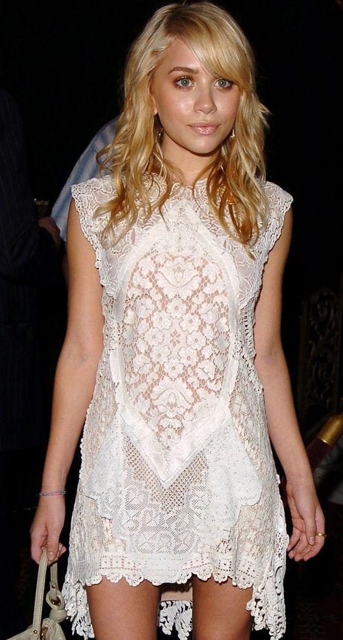 Intricate Eyelet Dress