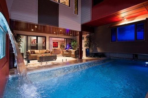 Swimming Pool In The Living Room Dream Homes Pinterest