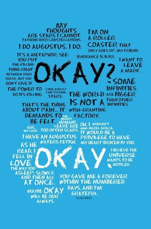 Hazel and Augustus | The Fault in our Stars | Pinterest
