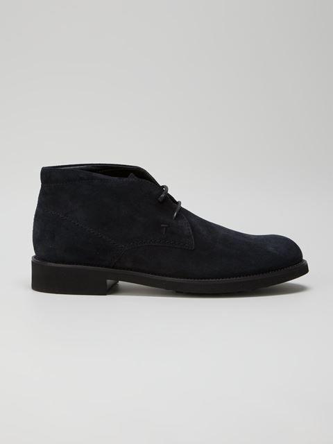 Tod's Chamois Leather Desert Boots - Choses De Femme - Farfetch.com