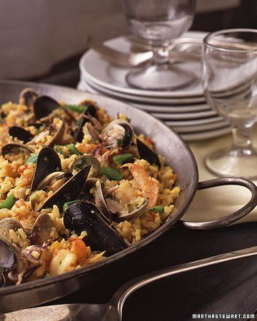 "Paella for 45 | ""party over here!"" 