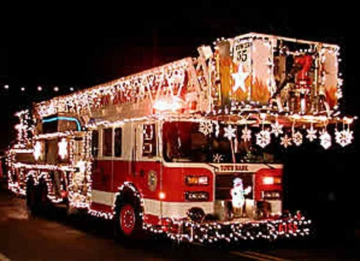 lighted fire truck my firefighting obsession pinterest. Black Bedroom Furniture Sets. Home Design Ideas
