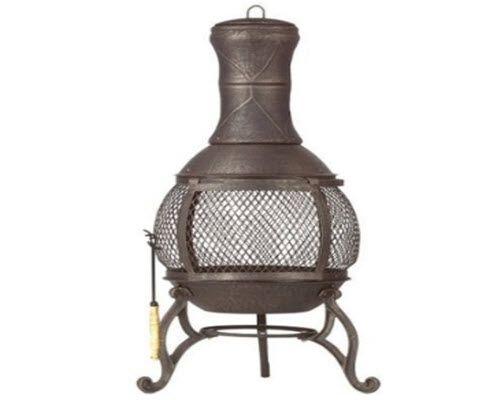 elegant backyard heavy duty outdoor cast iron fireplace