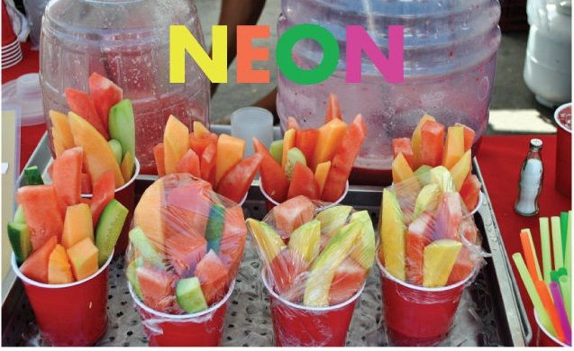 Mesa de frutas cocina pinterest - Decoracion de frutas ...