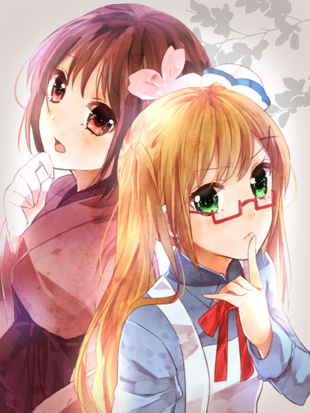 Nyotalia fem japan and fem england hetalia pinterest