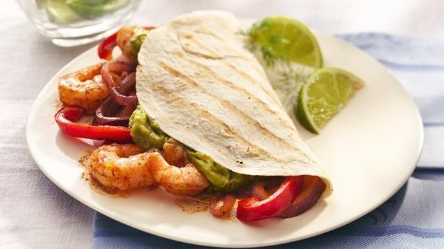 Grilled Shrimp Fajitas | Favorite Recipes | Pinterest