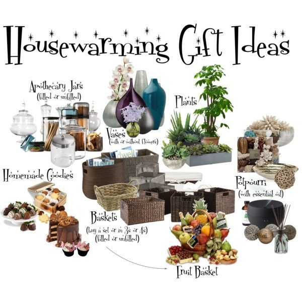 Housewarming Gift Ideas Gift Ideas Pinterest