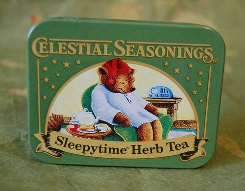 Celestial Seasonings Tea Collectible Tin