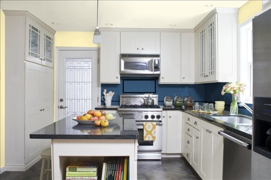 Yellow and blue kitchen kitchen ideas pinterest for Yellow and blue kitchen ideas
