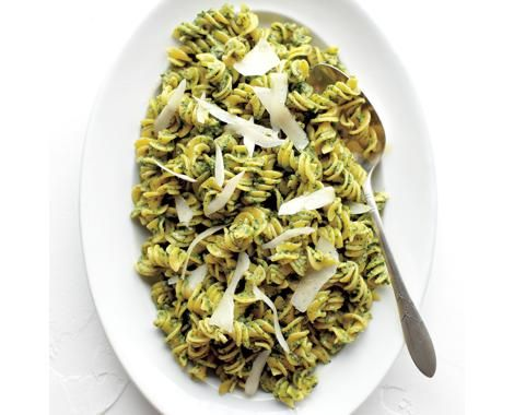 Fusilli with Spinach and Walnut Pesto Recipe | Food Recipes - Yahoo ...