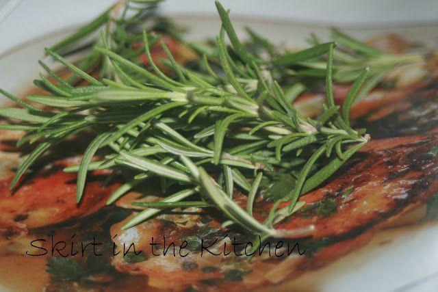 Garlic-Rosemary Steak | Skirt in the Kitchen