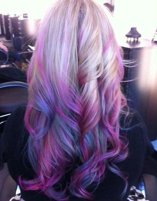arcoiris californiano cute hairstyle pinterest