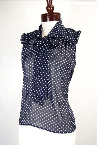 The Cecily Blouse. So sweetly classic.