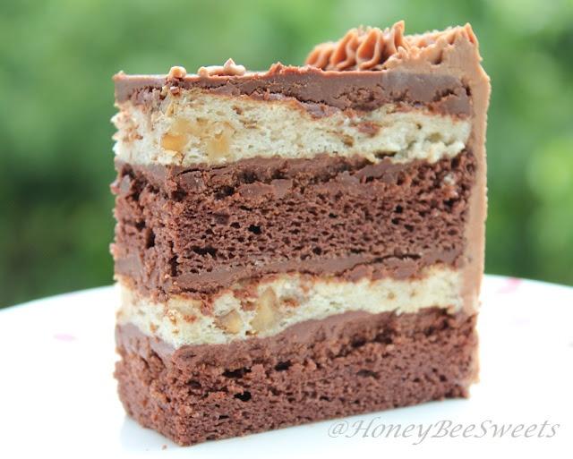 Chocolate Meringue Cake | Recetas Dulces | Pinterest