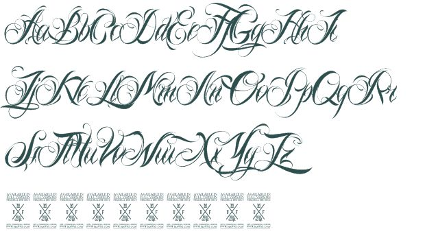 Pin by deanink kendall on tattoo fonts pinterest
