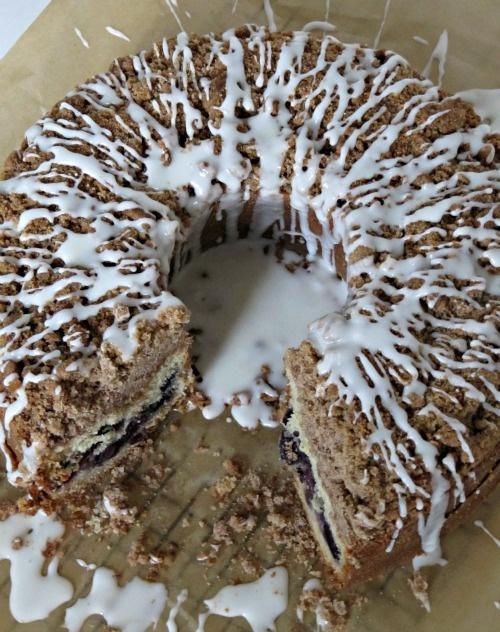 Cherry Streusel Coffee Cake   Food: Breads-Rolls-Danish   Pinterest