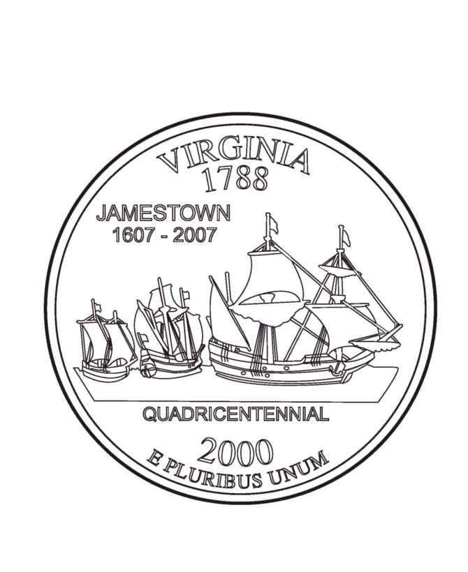 jamestown coloring pages - photo#22
