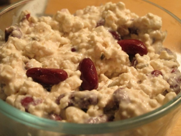cottage cheese and red kidney bean dip | W.W | Pinterest