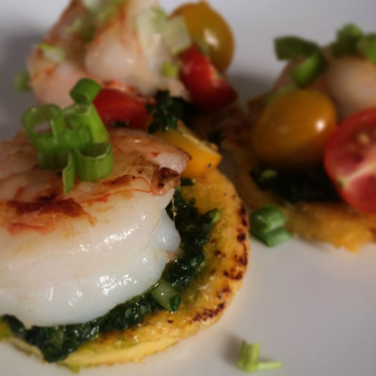 ... polenta with shrimp spinach and tomatoes polenta with shrimp spinach