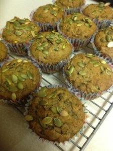 Zucchini Pumpkin Muffins | The Learning Bite | Pinterest