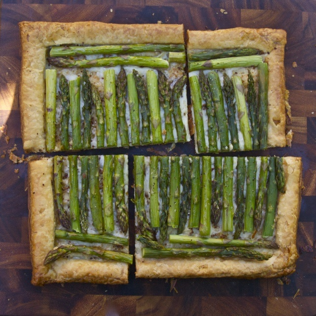 asparagus and gruyere tart | things to eat | Pinterest