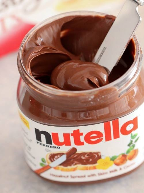 And sometimes love means eating Nutella. Yum!