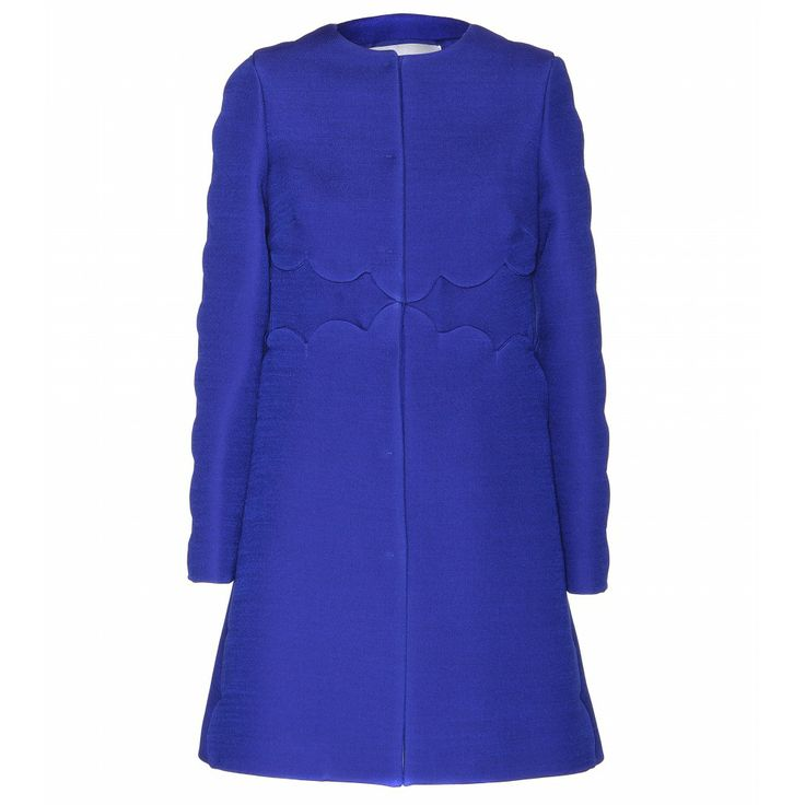 valentino blue coat