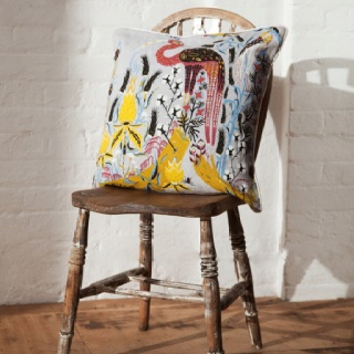 Crane cushion by Klaus Haapaniemi from Skandium